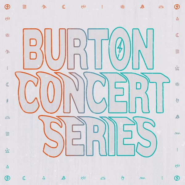 Another epic line-up for the Burton Concert Series