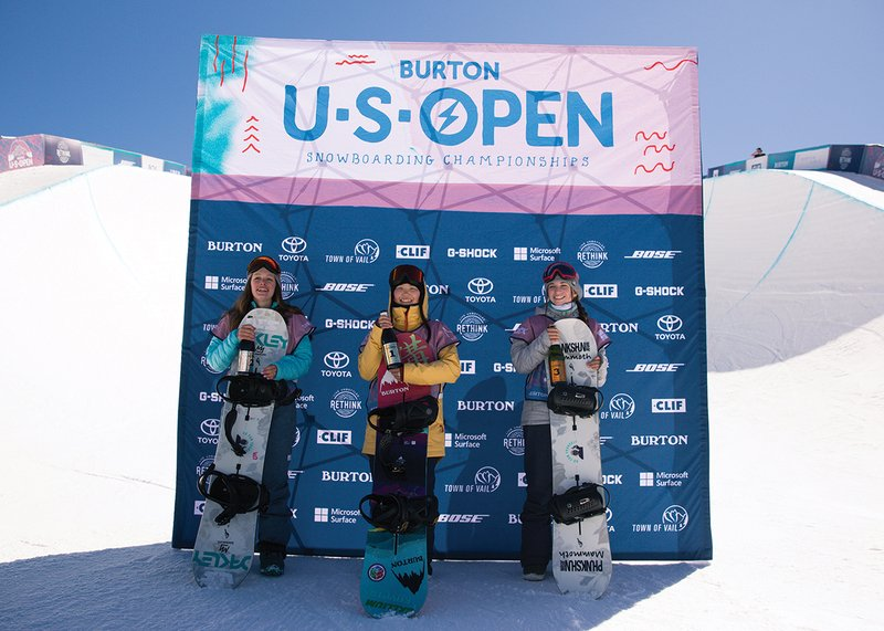 USO 18 Junior Jam Girls Podium