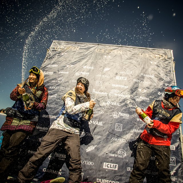 Kelly Clark & Taku Hiraoka Win 2015 Burton US Open Halfpipe Titles