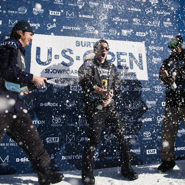 Men's Halfpipe Podium