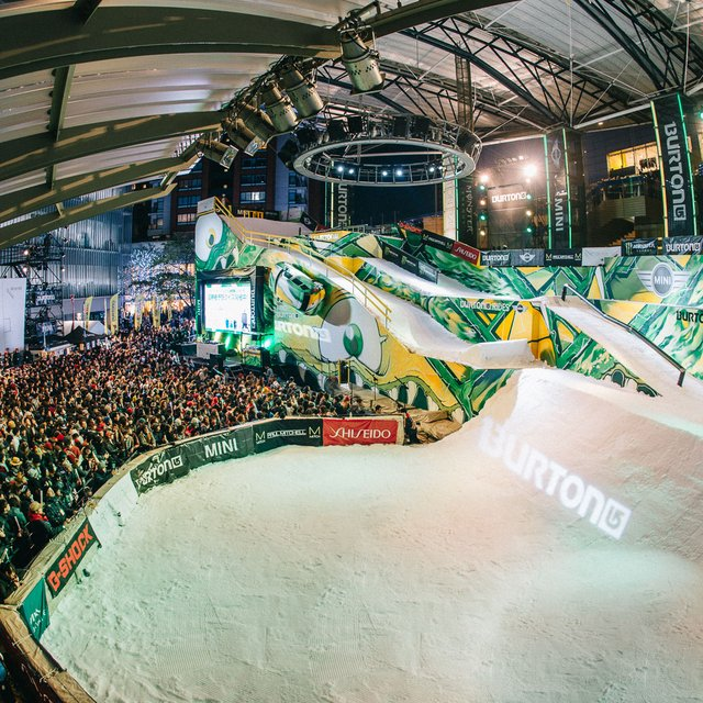 Burton Kicks Off Winter with World's Largest Street Snowboarding Event in Tokyo